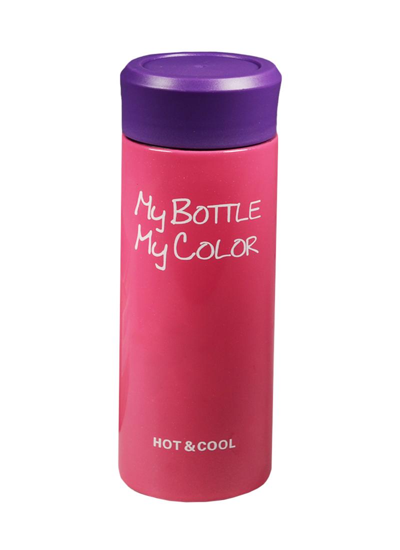 Термос My Bottle Colorful розовый (330 мл)