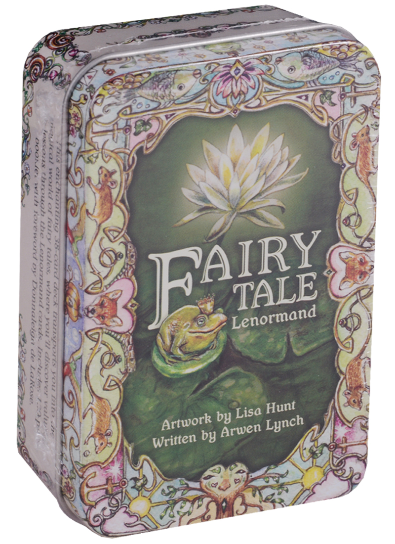 Lynch A., Hunt L. Fairy Tale Lenormand (карты + инструкция на английском языке в жестяной коробке) a fairy tale