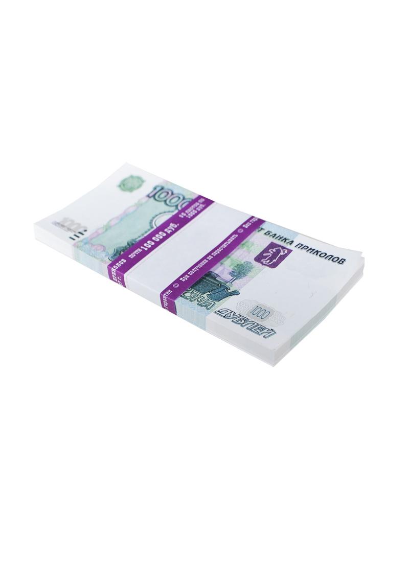Сувенирные банкноты 1000 рублей