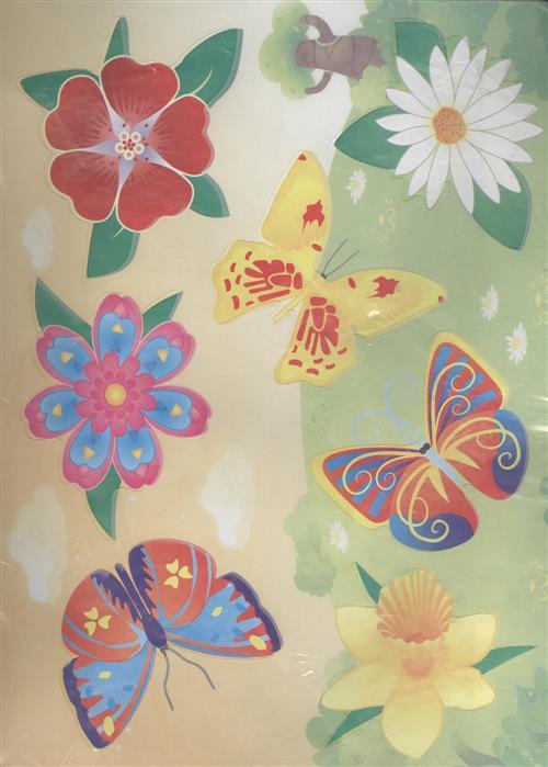 Трафареты Цветы Бабочки трафареты для стен цветы 2 22 31см внт 50