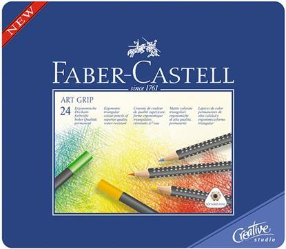"Карандаши цветные ""ART GRIP"", 24 цв., Faber-Castell"