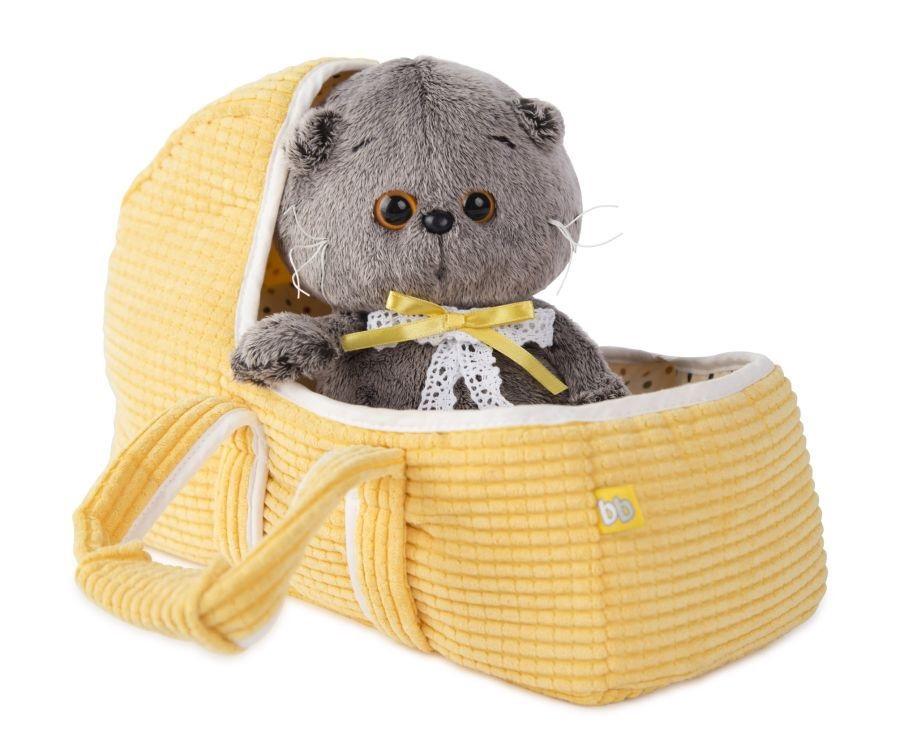 Мягкая игрушка Басик BABY в люльке (20 см) (BB-002)