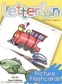 Gray E., Evans V. Letterfun. Picture Flashcards welcome 3 picture flashcards