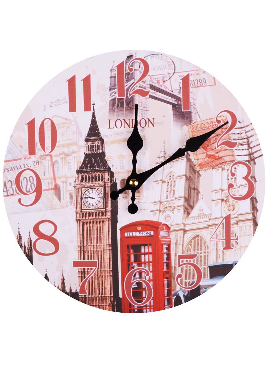 Часы настенные Лондон Биг-Бен (мдф)