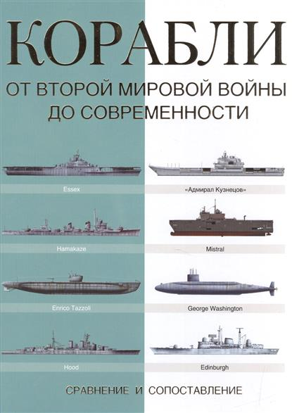 Корабли. От Второй мировой войны до совеременности: сравнение и сопоставление
