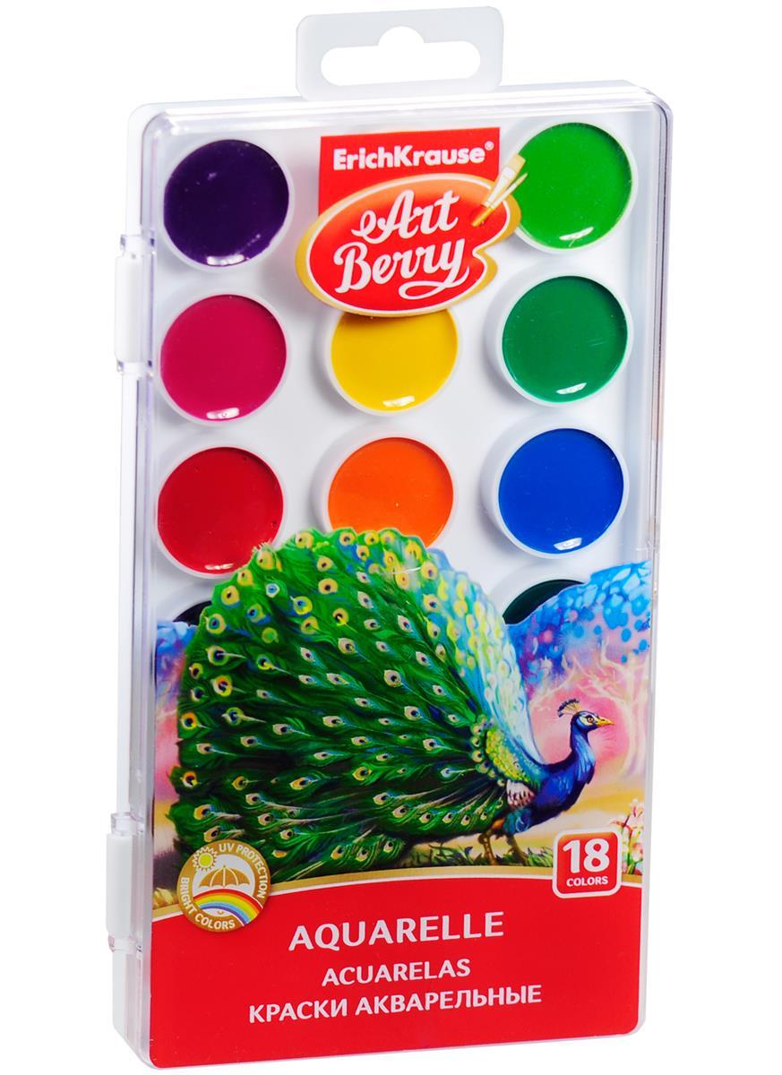 """Краски акварельные """"Art Berry"""", 18 цв."""