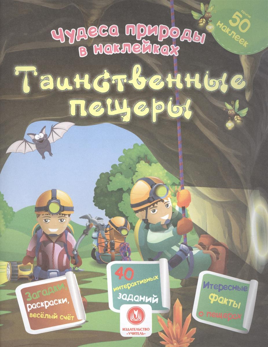 Губка Н. Таинственные пещеры. Сборник развивающих заданий литвиненко н всеядные сборник развивающих заданий с наклейками