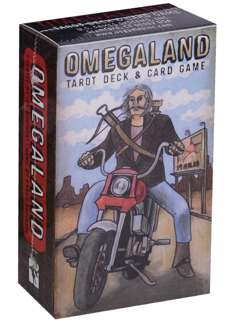 Omegaland Tarot Deck / Омегаланд таро (карты + инструкция на английском языке) магические послания богинь 44 карты инструкция