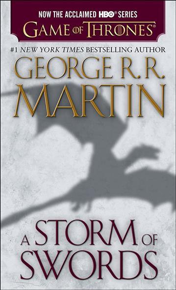 Martin G. A Storm of Swords swords of glass
