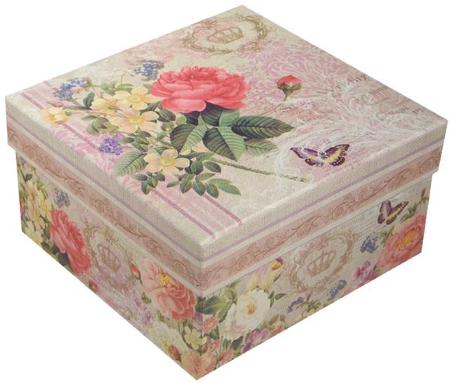 """Коробка подарочная """"Букет"""", 13*13*7.5см"""