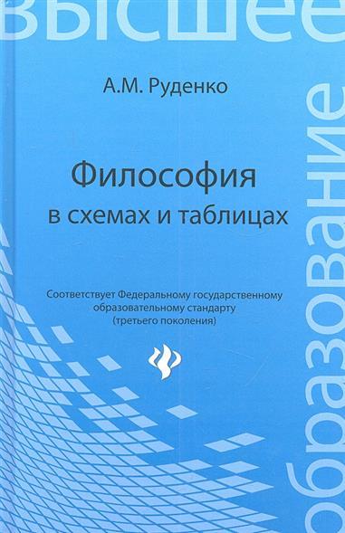 Философия в схемах и таблицах: учеб. Пособие / изд. 2-е, испр.