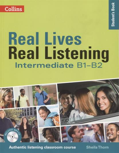 Thorn S. Real Lives, Real Listening:Elementary Student's Book B1-B2 (+MP3) доска для объявлений dz 1 2 j8b [6 ] jndx 8 s b