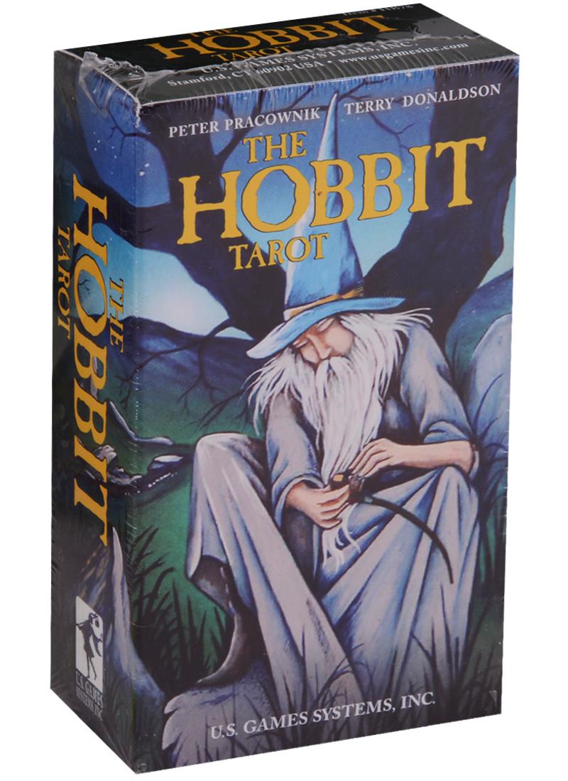 Pracownik P., Donaldson T. The Hobbit Tarot / Хоббитов таро (карты + инструкция на английском языке) магические послания богинь 44 карты инструкция