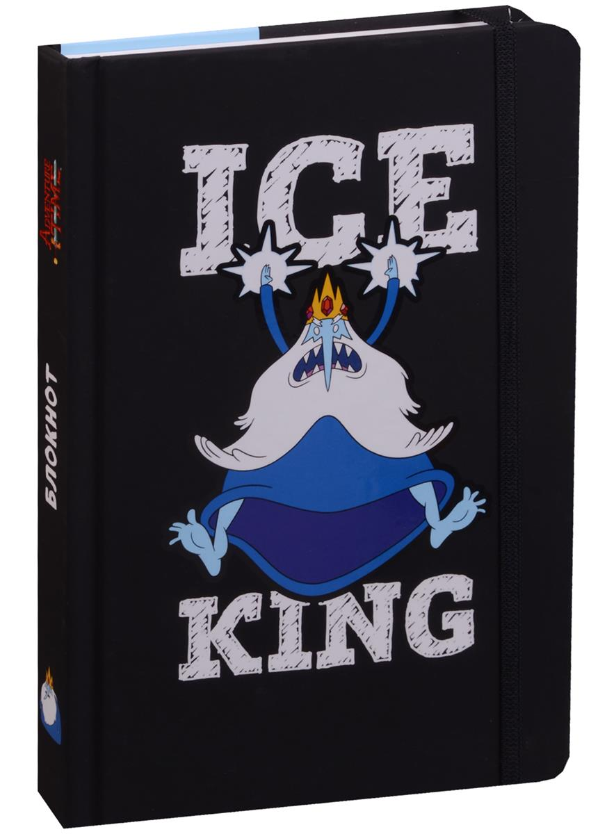 Adventure time Блокнот с резинкой Снежный король