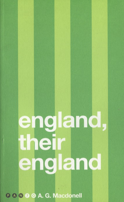 Macdonell A. England, Their England  ISBN: 9781509858477 germany england