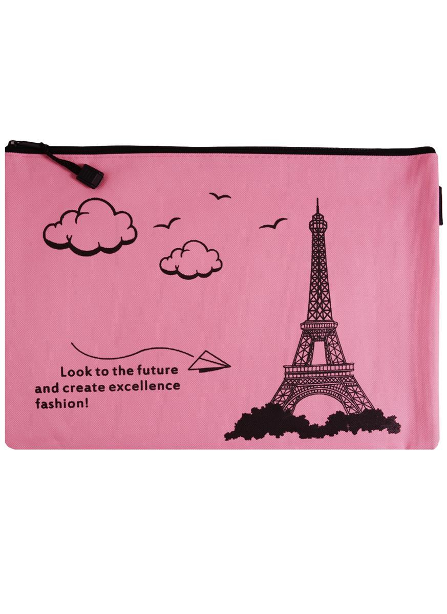 """Папка на молнии А4 """"Paris"""", ткань"""