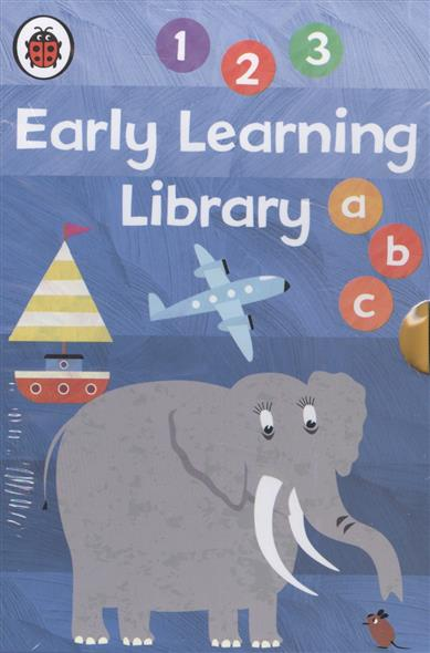 Early Learning Library. Комплект из 7 книг в футляре chunghop rm l7 multifunctional learning remote control silver