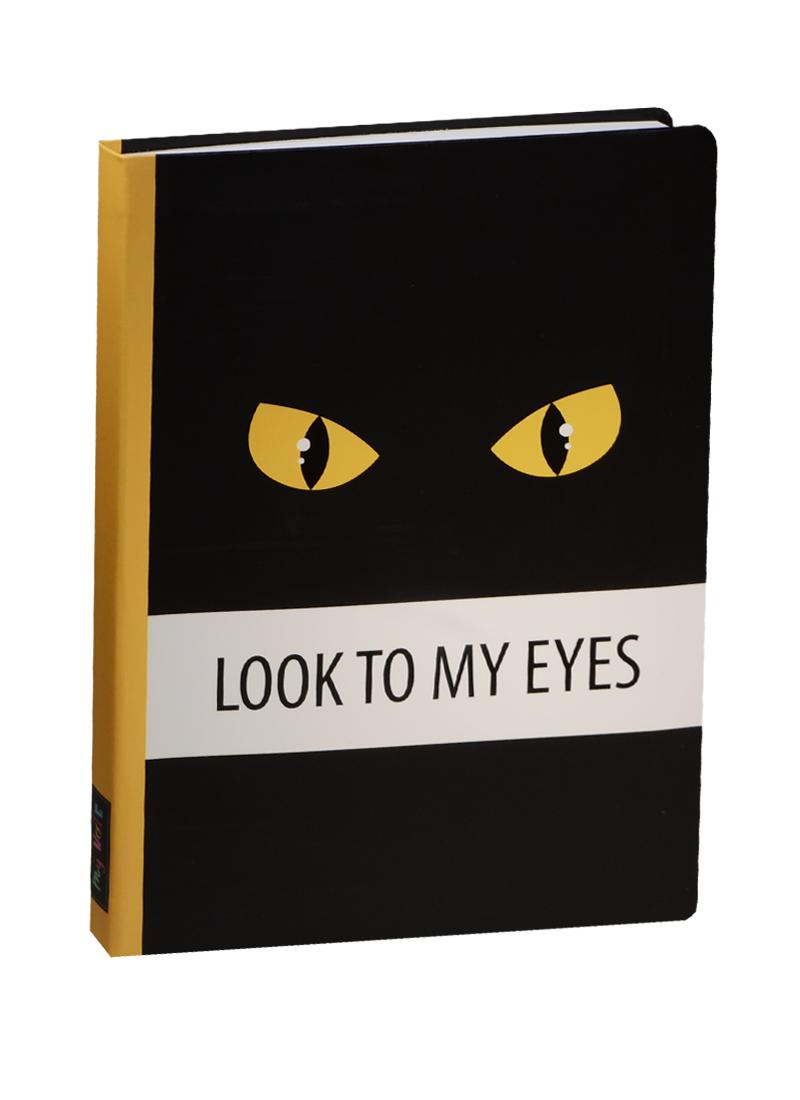 Блокнот Look to my Eyes (желтый)