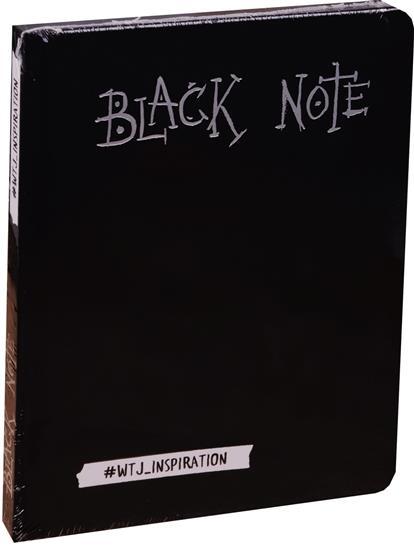 Black Note. Креативный блокнот с черными страницами (мини формат)