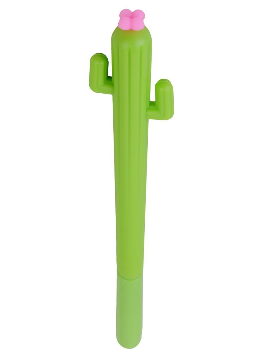 Ручка Кактус с цветком