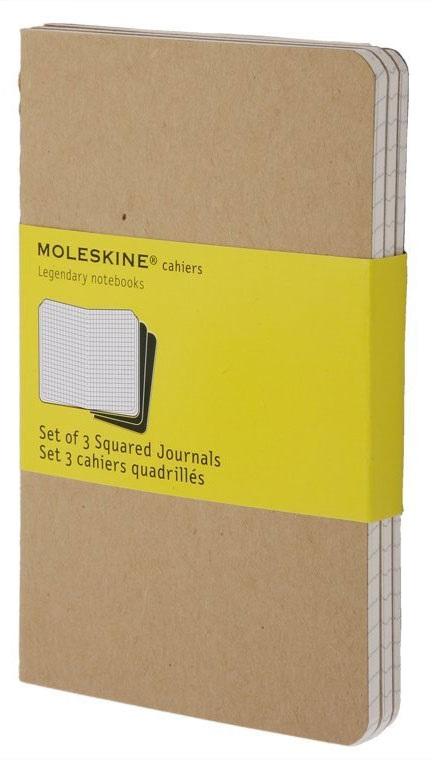 """Книга для записей А5 40 листов клетка """"Cahier Journal Large"""" (3шт.)"""