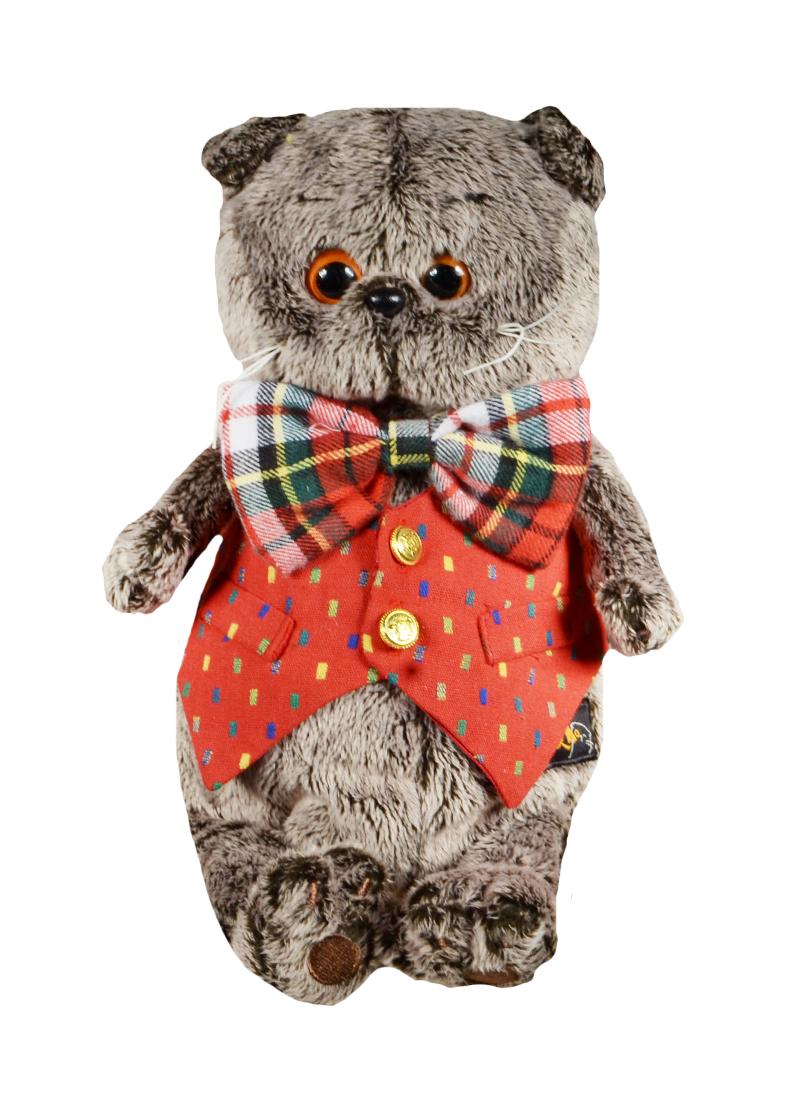 Мягкая игрушка Басик в жилете (22 см) (Ks22-022)