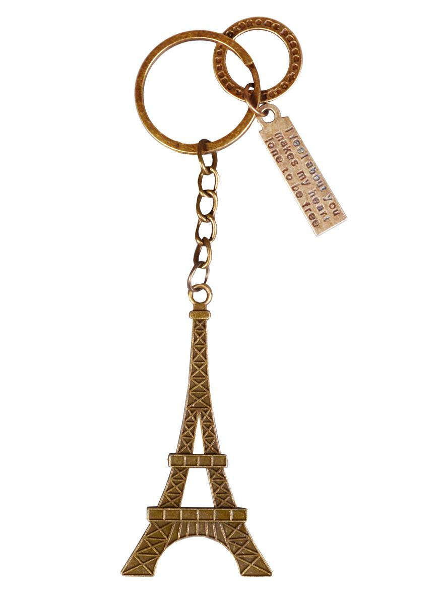 Брелок Эйфелева башня (металл) (12см) (блистер)