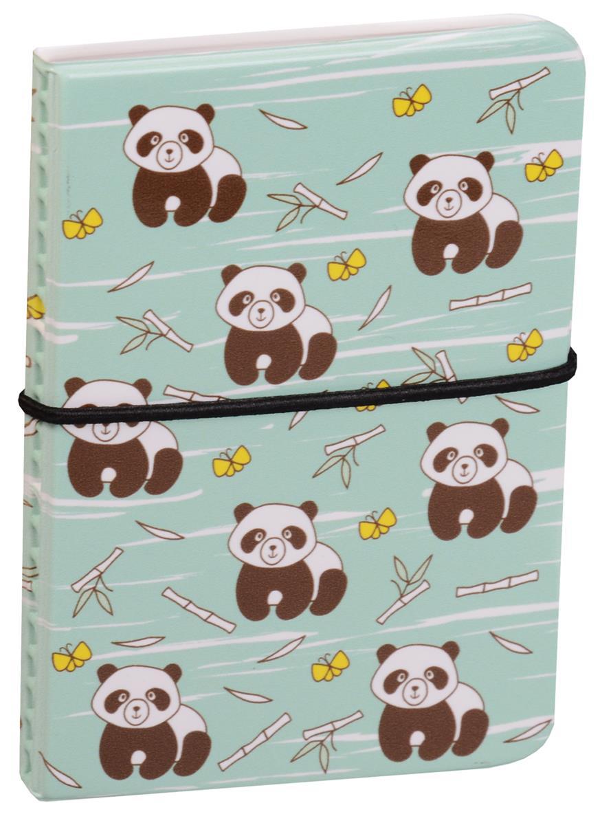 Визитница Панды с бамбуком
