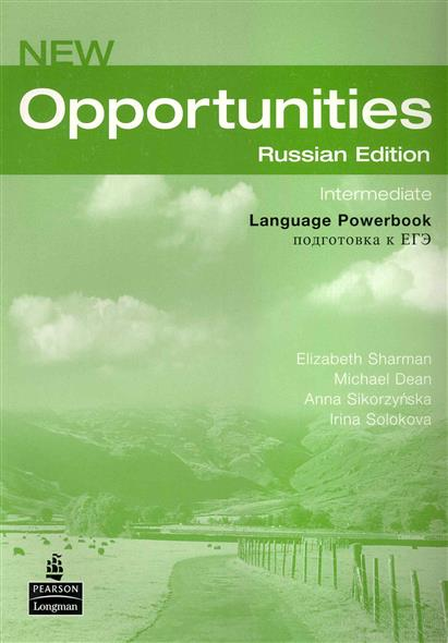 Sharman E., Dean M., Sikorzynska A., Solokova I. New Opportunities Intermediate LPB
