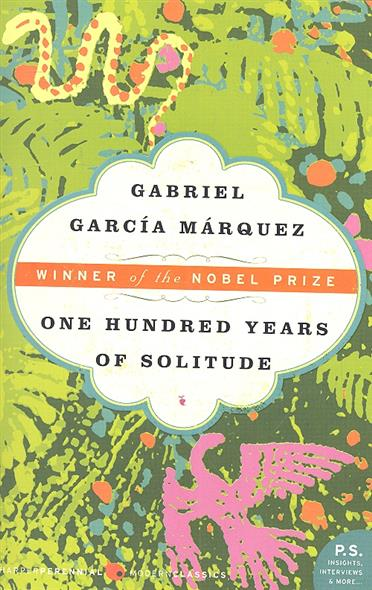 Marquez G. One Hundred Years of Solitude garcia marquez g one hundred years of solitude