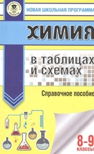 Химия в таблицах и схемах. Справочное пособие. 8-9 классы