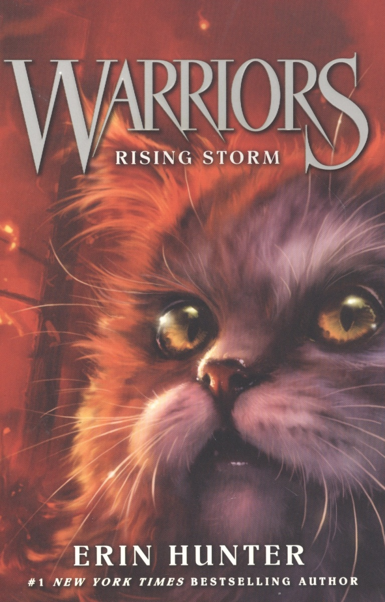 Hunter Е. Warriors #4: Rising Storm  red rising