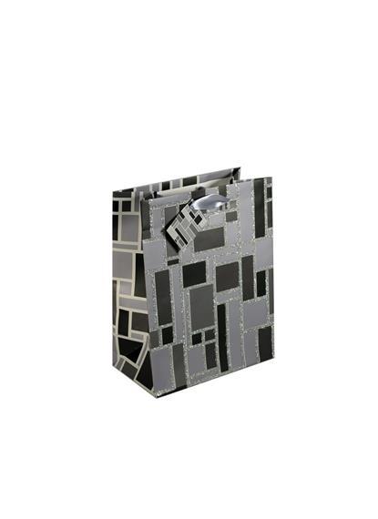Пакет подарочный бумажный А5 18*23*10 мат. ламинат, глиттер, HX-9624-27M, ассорти, Хансибэг