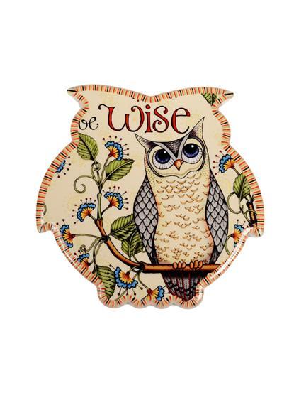 Подставка под кружку Сова Мудрость (в форме совы) (11см)