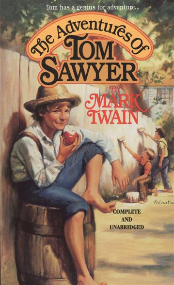 Twain M. The Adventures of Tom Sawyer twain mark the adventures of tom sawer приключения тома сойера роман на англ яз