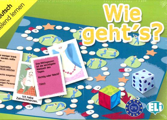 Games: [A2-B1]: Wie geht's? games [a2 b1] come stai