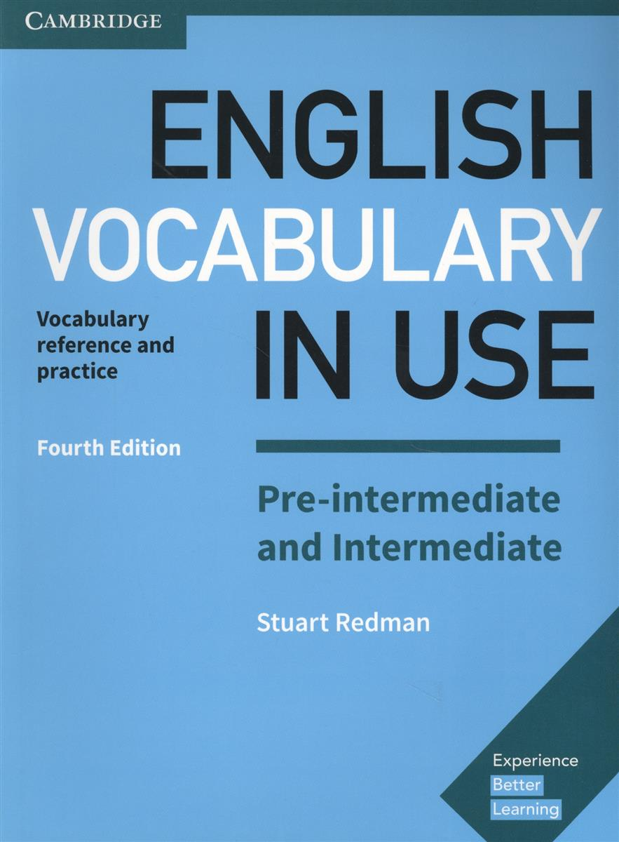 Redman S. English Vocabulary in USE. Pre-Intermediate and Intermediate. Vocabulary reference and practice reward pre intermediate student s book