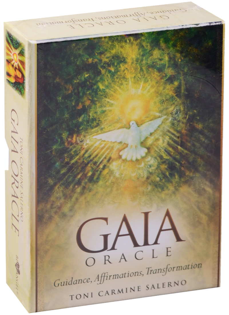 Salerno T.C. Gaia Oracle. Guidance, Affirmation, Transformation (45 Cards & Guidebook) [show z store] infinite transformation it01 mightron mp36 mp 36 transformation action figure
