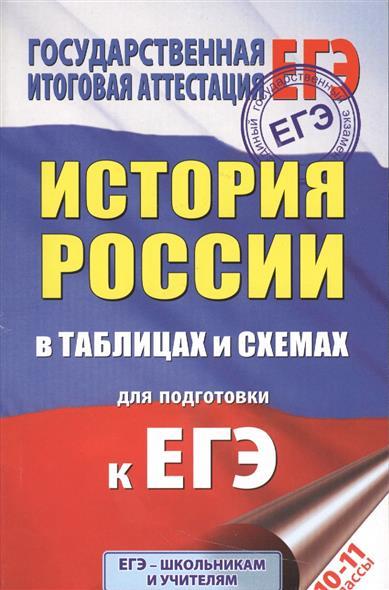 История России в таблицах и схемах для подготовки к ЕГЭ. 10-11 классы