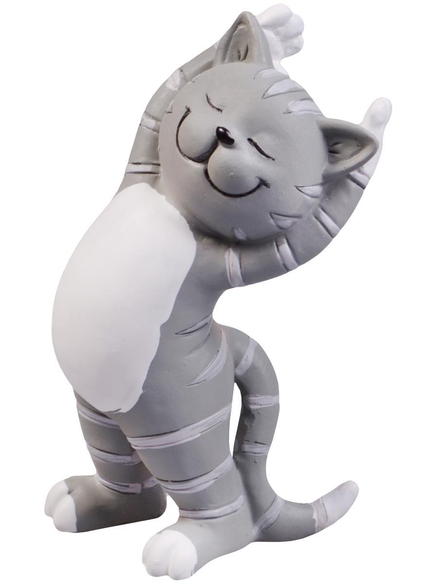 Фигурка Йога-кот (5х5х10)