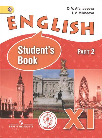 Английский язык. 11 класс. В 3-х частях. Часть 2. Учебник для общеобразовательных организаций. Углубленный уровень. Учебник для детей с нарушением зрения
