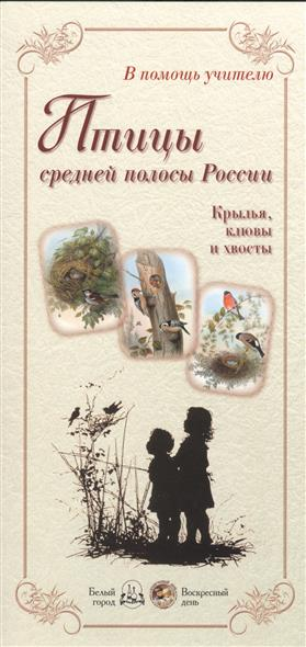 Птицы средней полосы России. Крылья, клювы и хвосты