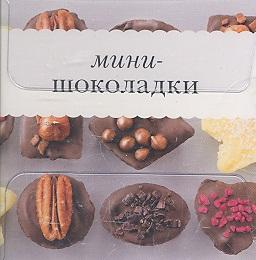 Мини-шоколадки. Книжка с рецептами + кондитерский набор: 16 формочек