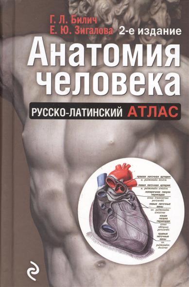 Билич Г., Зигалова Е. Анатомия человека. Русско-латинский атлас. 2-е издание атлас билич крыжановский
