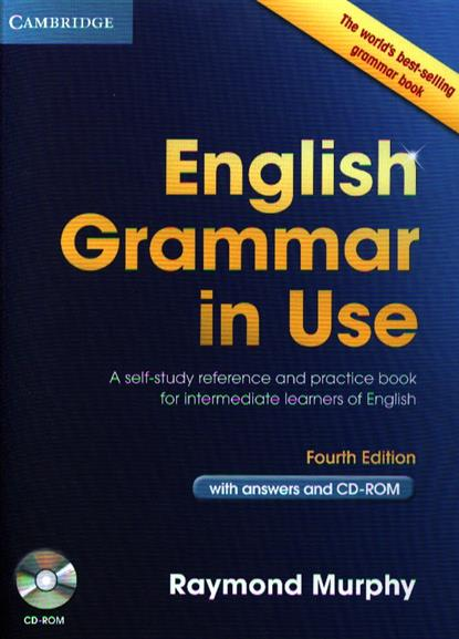 Murphy R. English Grammar in Use with answers and CD-ROM. Fourth Edition swan michael walter catherine oxford english grammar course basic with answers with cd rom