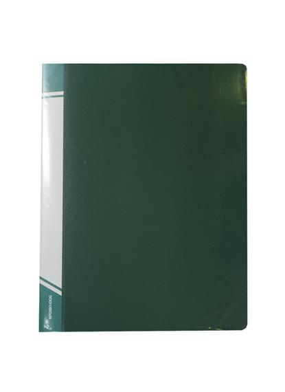 Папка 100ф А4 пластик 0,8мм, ассорти, inФормат