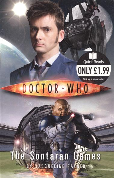 Rayner J. Doctor Who: The Sontaran Games футболка рингер printio доктор кто doctor who