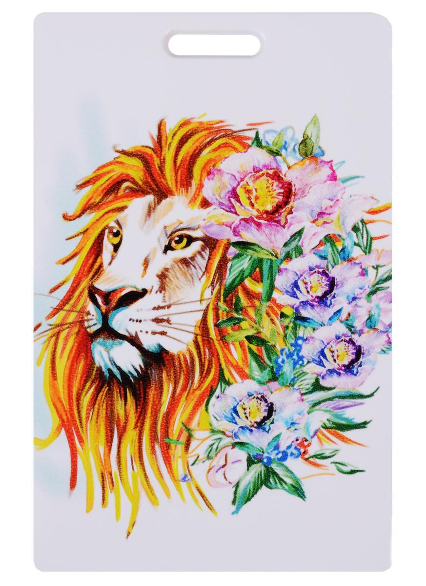 Чехол для карточек Аnimals in Flowers: Лев