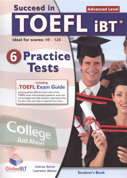 Betsis A., Mamas L. Succeed in TOEFL iBT. Student's Book + Self-Study Guide (комплект из 2-х книг в упаковке + CD) betsis a mamas l succeed in cambridge english preminary student s book self study guide комплект из 2 х книг cd