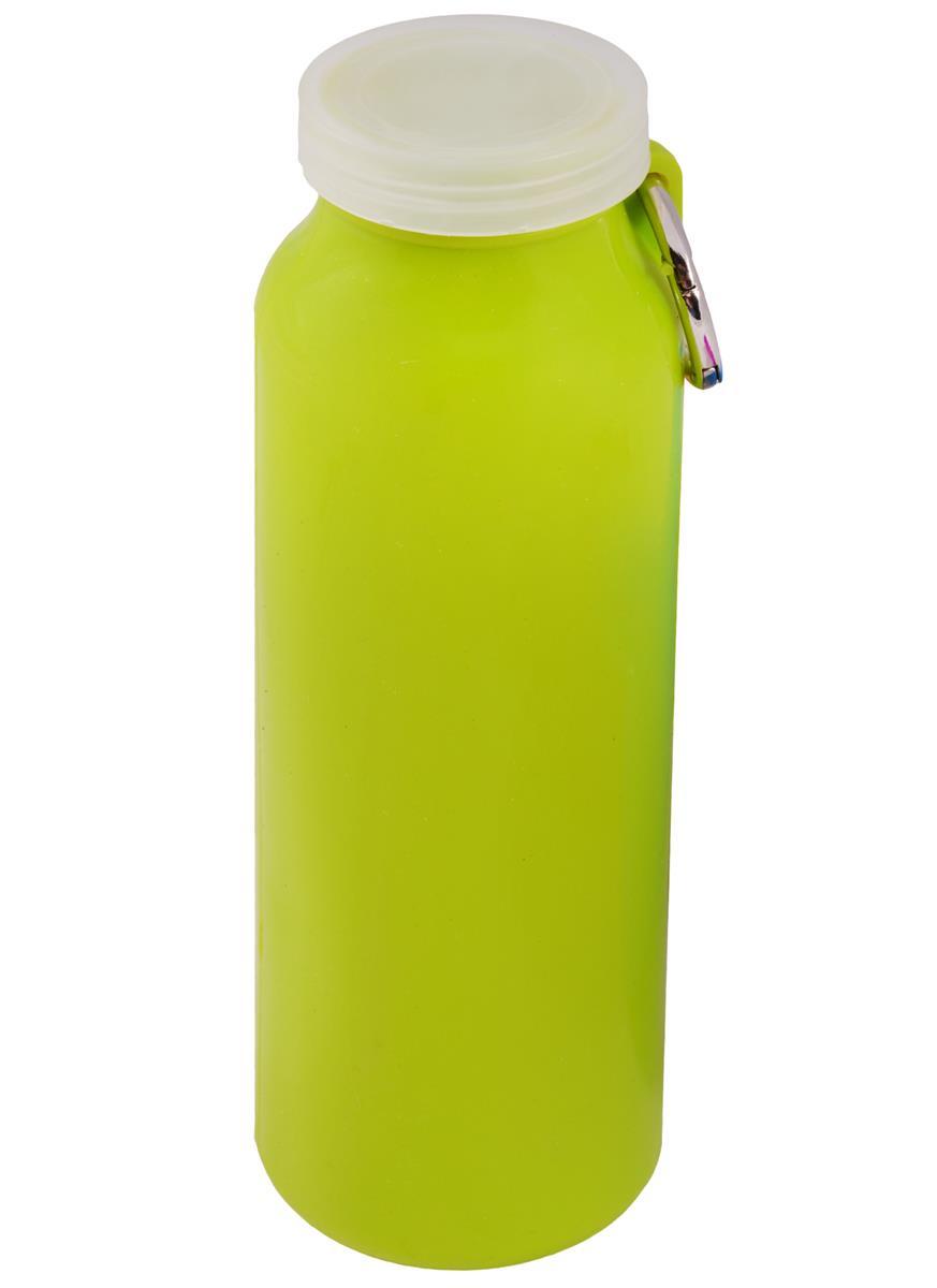 Бутылка силиконовая с кольцом (650мл)